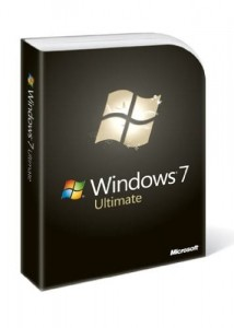 Upgrade do Windows 7 Ultimate 32/64bit BOX
