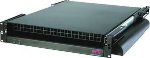 APC ACF202BLK Rack Side Air Distribution