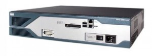 CISCO 2821 2x10/100/1000 + HWIC-1FE 64MB