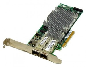 HP ADP NC522SFP 10GB PCI-E 2-PORT wysoki profil