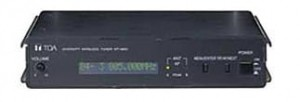 TOA DIVERSITY WIRELESS TUNER WT-4800
