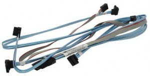 Kabel Mini SAS SFF-8087 do 4x SATA 70CM