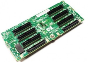Backplane HP DL380 G6 507690-001 8-Bay 2,5 SAS