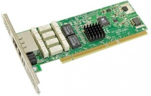 SILICOM DUAL PORT COPPER BYPASS 102-02541 PCI-X