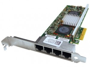 Dell 0R519P 1 GB Quad Port PCI-e wysoki profil