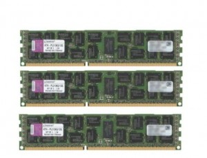 12GB DDR3 PC3-10600R KINGSTON KTH-PL313K3/12G