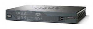 router CISCO 800, 890 Series 892F-W IEEE 802.11n