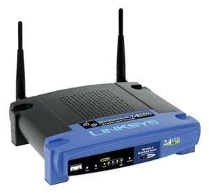 Router Linksys WRT54G 2 anteny