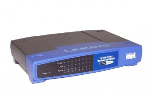 Switch Cisco Linksys 10/100 8 port EZXS88W + zasilacz