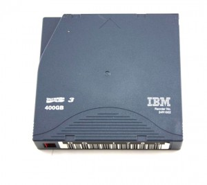 Taśma do streamera IBM Ultrium LTO-3 400GB 24R1922